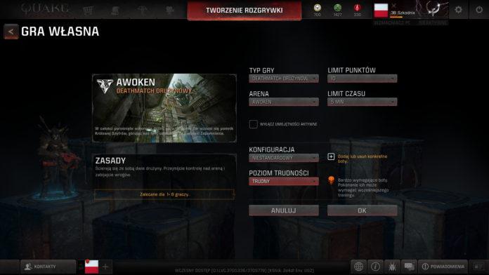 Sierpniowa aktualizacja do Quake Champions już na serwerach 3
