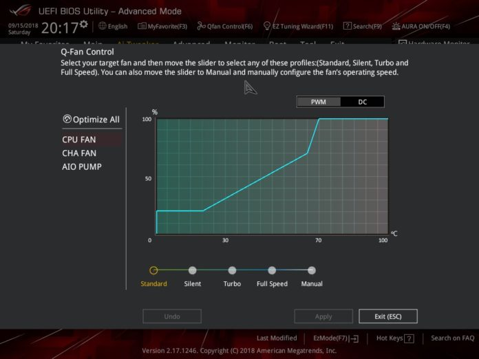 ASUS ROG STRIX B450-I GAMING - UEFI