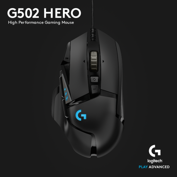 Logitech G502 weights