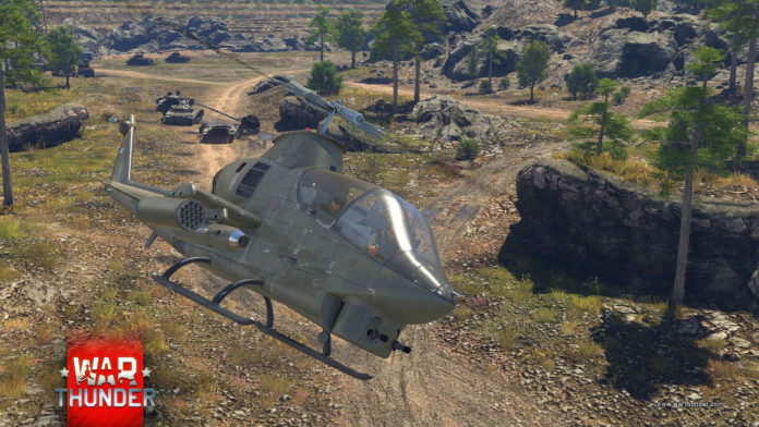 War Thunder - helikopter