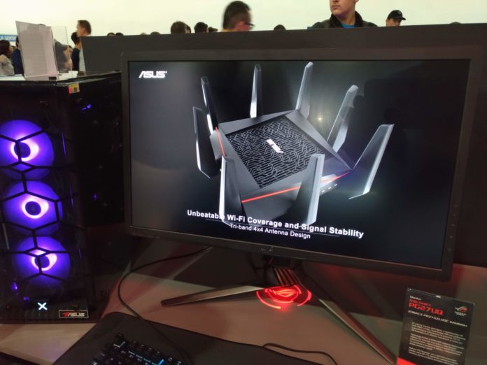 Poznań Game Arena 2018 - ASUS ROG Swift PG27UQ