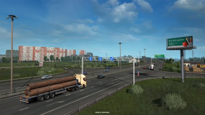 Beyond the Baltic Sea - miasto Petersburg w grze ETS 2