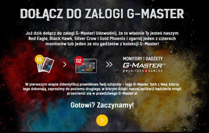 Dołącz do załogi G-Master - nowy konkurs od iiyama
