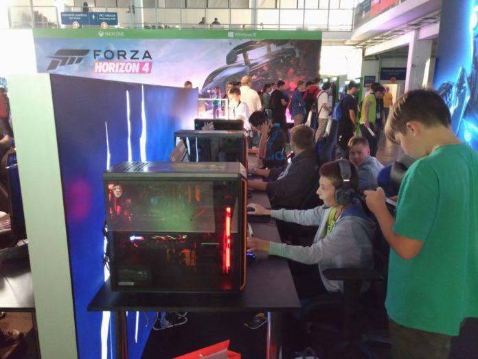 Poznań Game Arena 2018 - komputery do grania