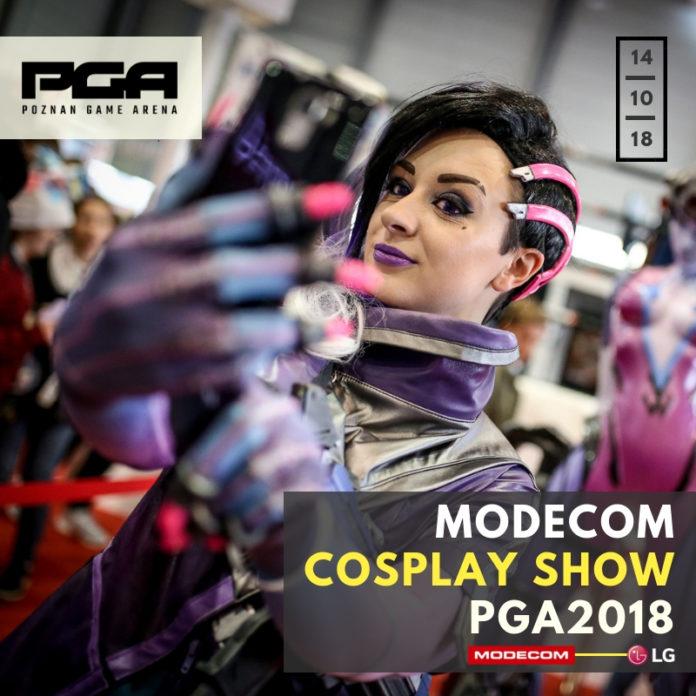 MODECOM COSPLAY SHOW PGA 2018