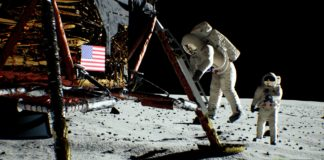 NVIDIA odtworzyła lądowanie na Księżycu z użyciem kart GeForce RTX