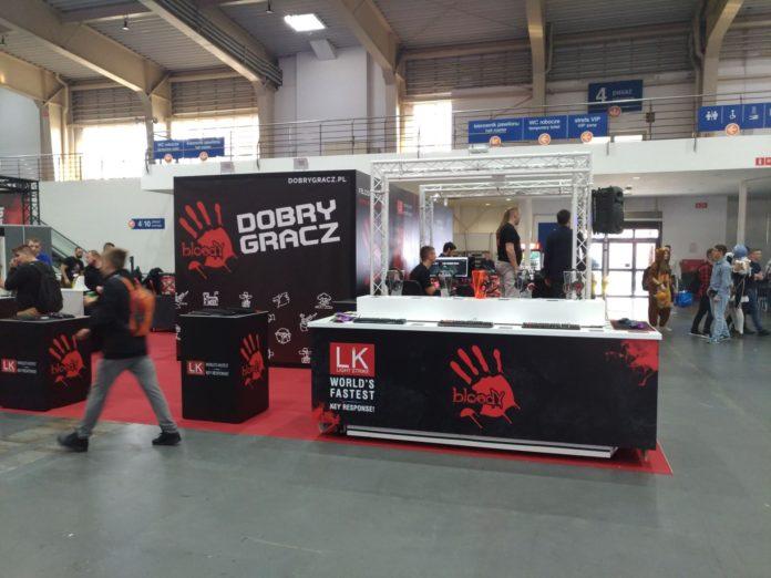Poznań Game Arena 2018 - stoisko Bloody