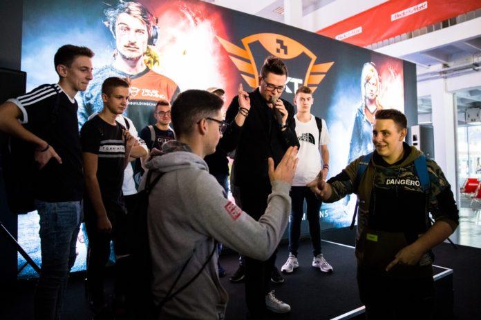 Poznań Game Arena 2018 - stoisko Trust Gaming