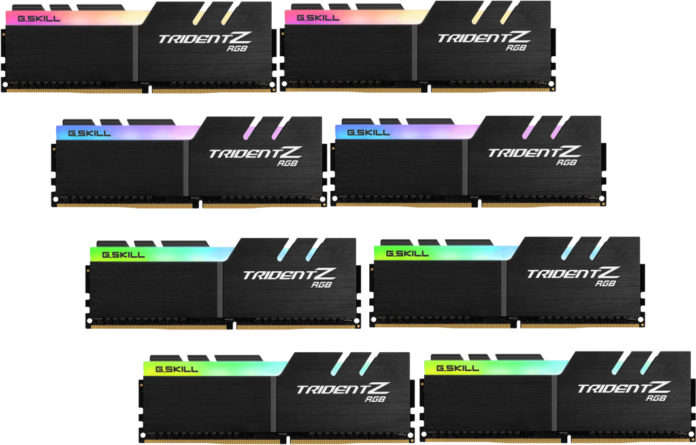 G.Skill Trident Z 64 GB DDR4-4266 i 128 GB DDR4-4000