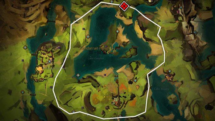 Guild Wars 2 - trasa wyścigu w Gendarran Fields