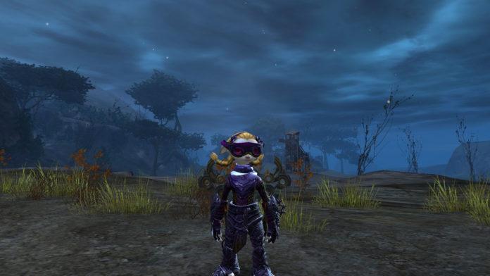 Guild Wars 2 - wyścigowe gogle