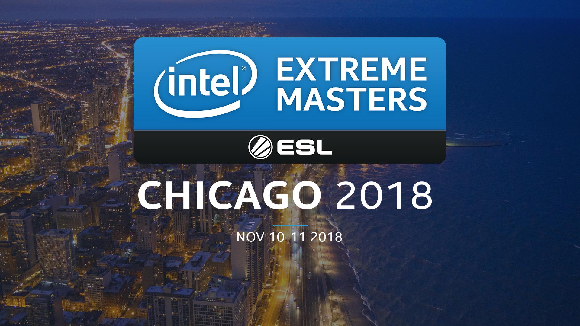 Intel Extreme Masters Chicago 2018 - informacyjnie i grupy z drużynami 1
