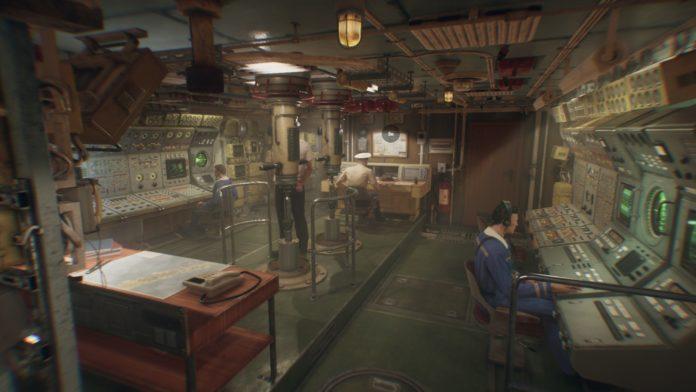 KURSK - okręt we wnętrzu