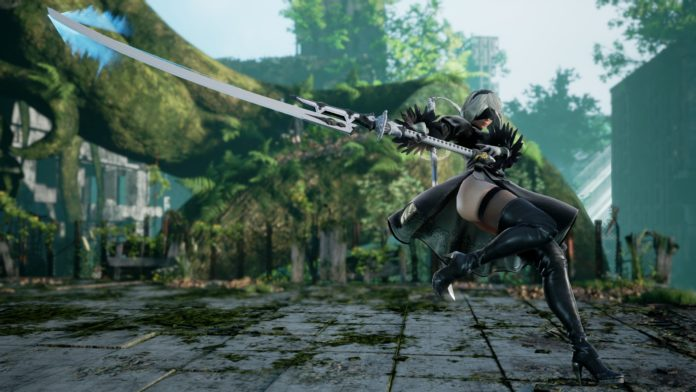 Soulcalibur VI postać 2B z NieR: Automata