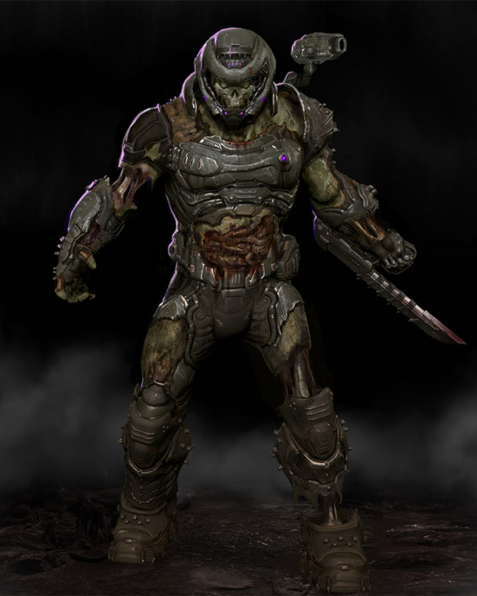 Doom Eternal - zombie slayer