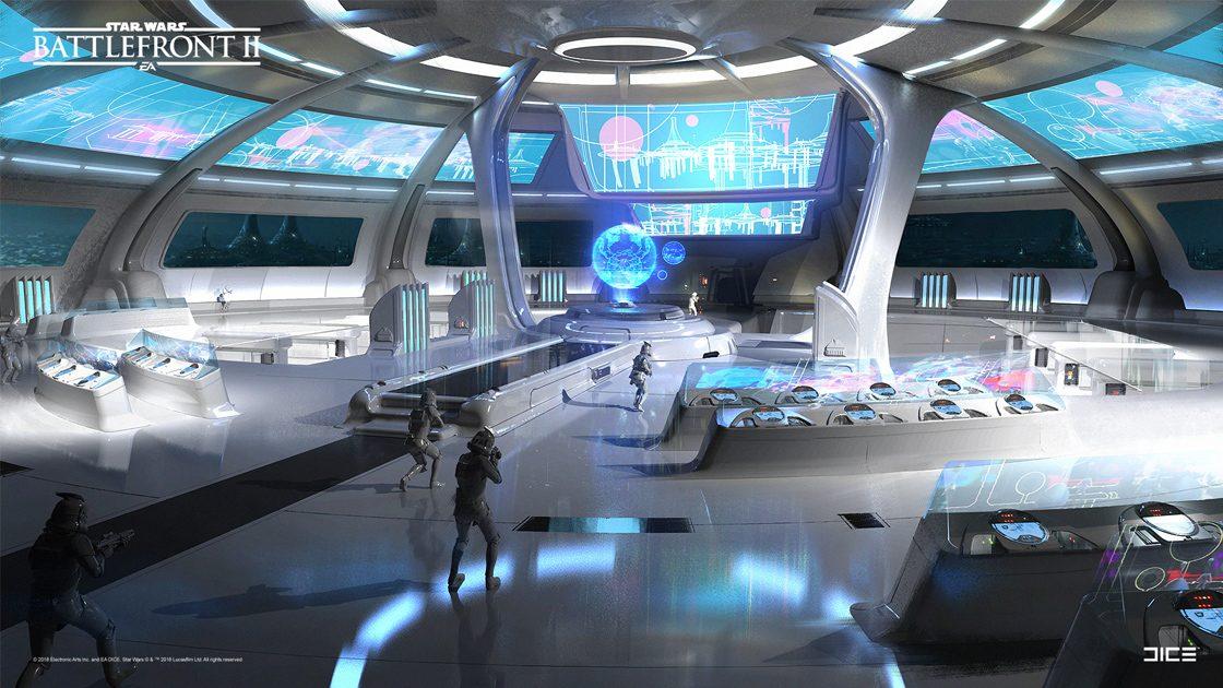 Grafiki koncepcyjne do Star Wars: Battlefront II – czyli jak powstały piękne krajobrazy 10
