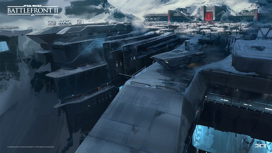 Grafiki koncepcyjne do Star Wars: Battlefront II – czyli jak powstały piękne krajobrazy 3