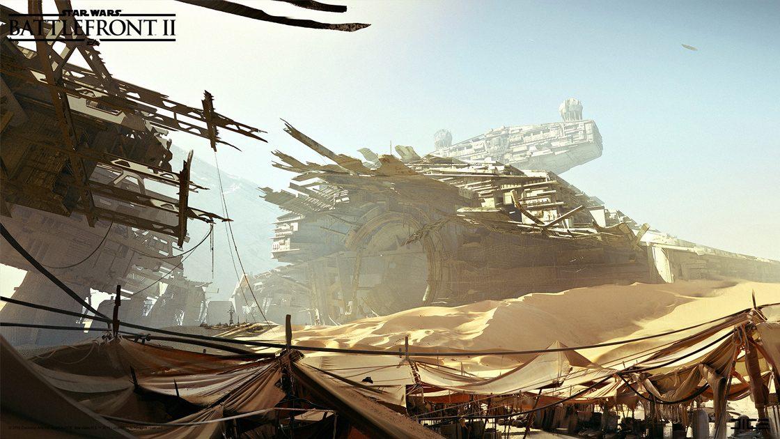Grafiki koncepcyjne do Star Wars: Battlefront II – czyli jak powstały piękne krajobrazy 9