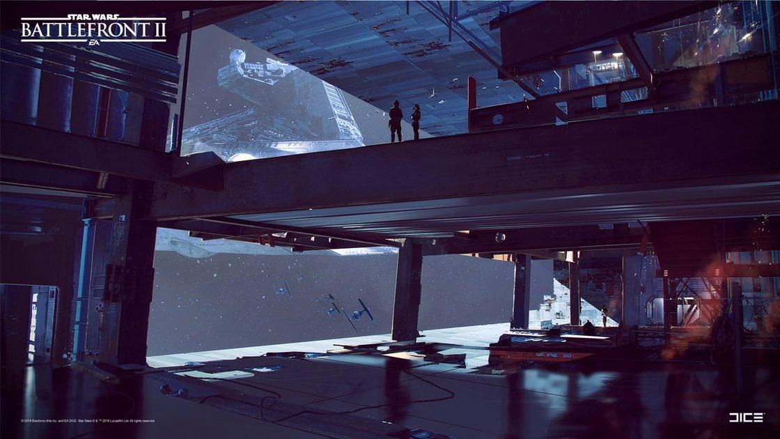 Grafiki koncepcyjne do Star Wars: Battlefront II – czyli jak powstały piękne krajobrazy 1