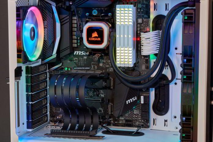 Przedłużacz PCIe 3.0 x16 w osłonie CORSAIR Premium typu 4 generacji 4
