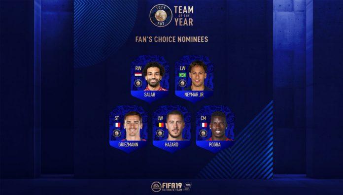 Znamy drużynę roku EA SPORTS FIFA 19 2