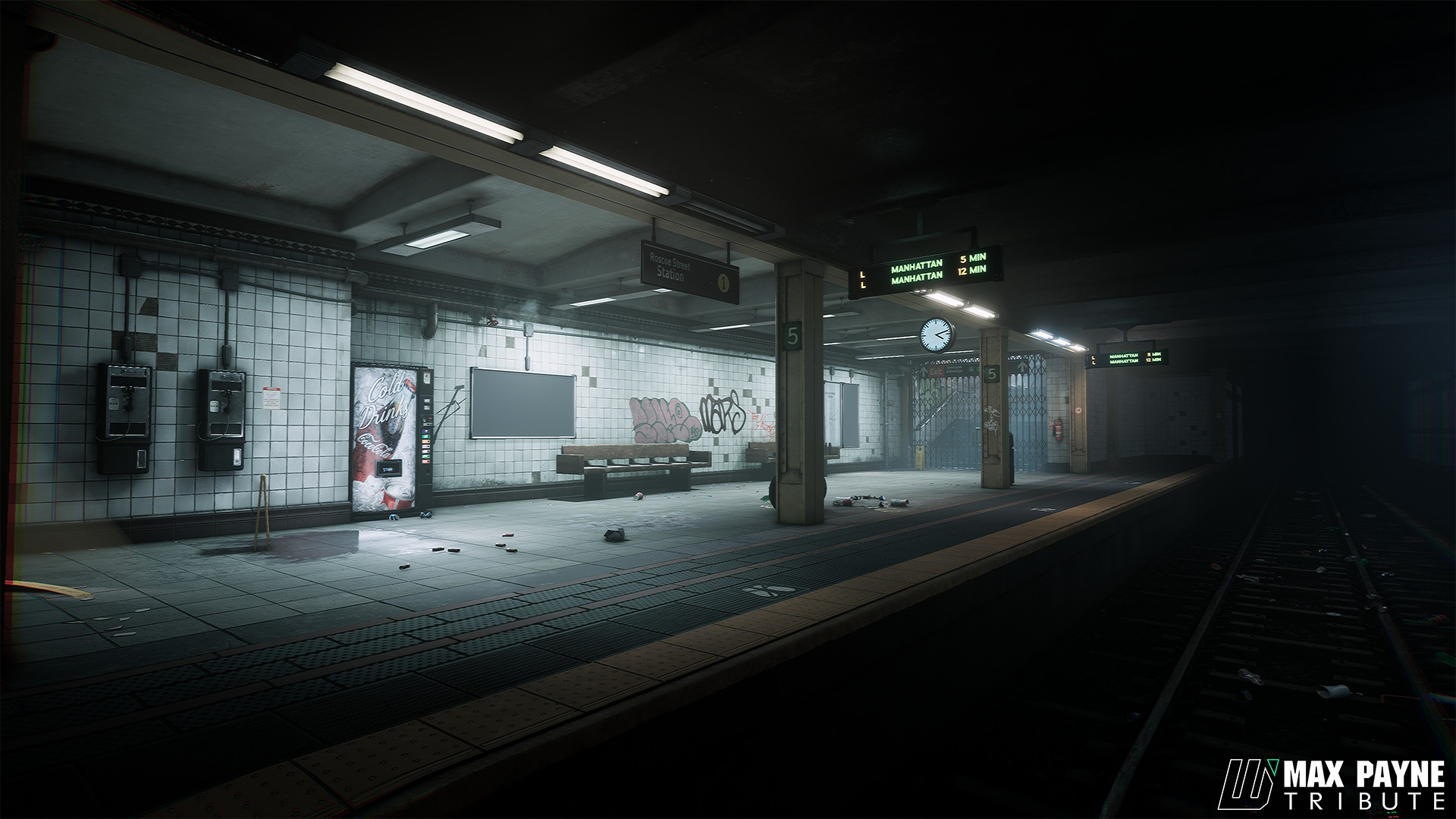 Max Payne na Unreal Engine 4 - 1