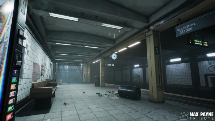Max Payne na Unreal Engine 4 - 2