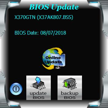 BIOSTAR RACING X370GTN - BIOS
