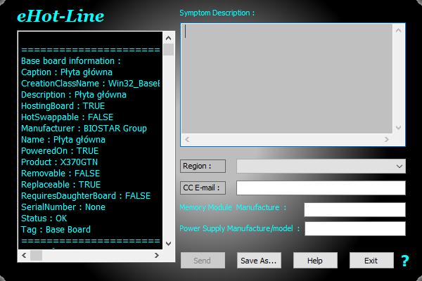 BIOSTAR RACING X370GTN - eHot Line