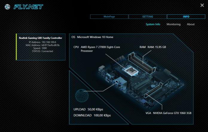 BIOSTAR RACING X370GTN - FLYnet