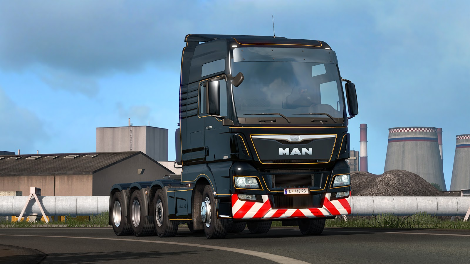 MAN TGX Euro 6 Efficient Line 2 edition