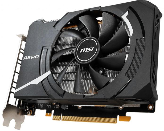 MSI GeForce GTX 1660 Ti AERO ITX 6G