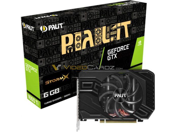 PALIT GTX 1660 Ti StormX