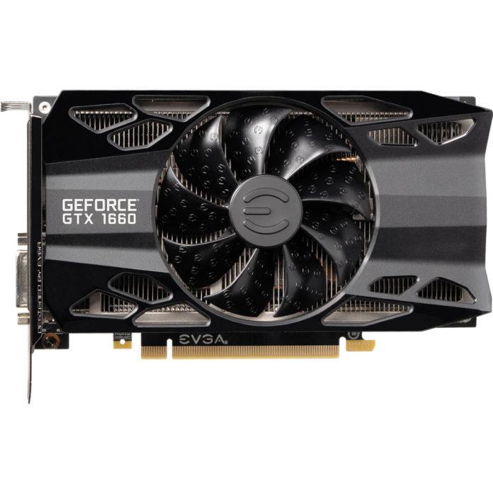 EVGA GeForce GTX 1660 XC BLACK GAMINGEVGA GeForce GTX 1660 XC BLACK GAMING