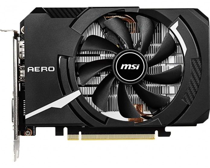 MSI GeForce GTX 1660 AERO ITX 6G