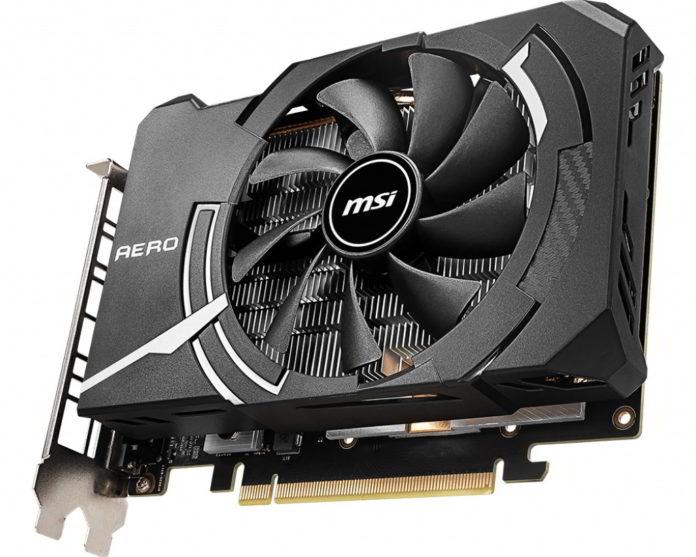 MSI GeForce GTX 1660 AERO ITX 6G OC