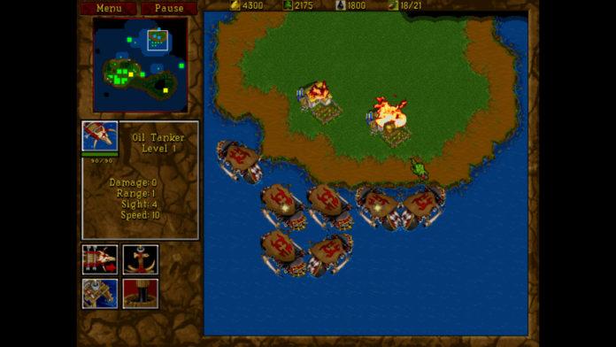 Warcraft 2 - okręty Orków