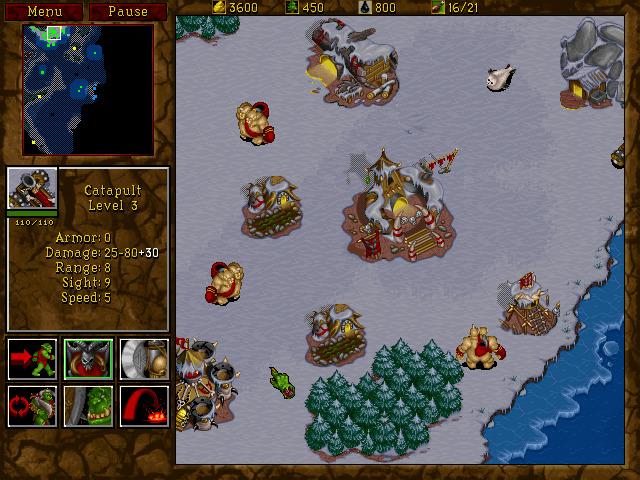 Warcraft 2 - Orkowie