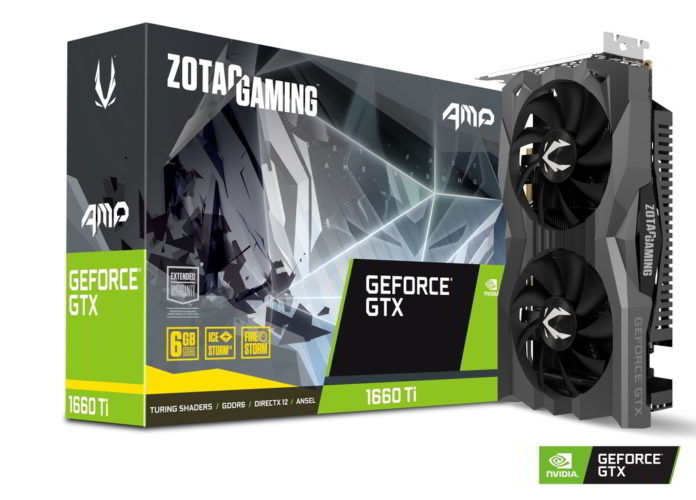 ZOTAC GAMING GeForce GTX 1660 Ti AMP