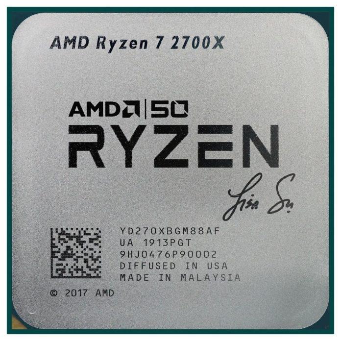 Ryzen 7 2700X Gold Edition - nowy procesor z okazji 50-lecia firmy AMD 1