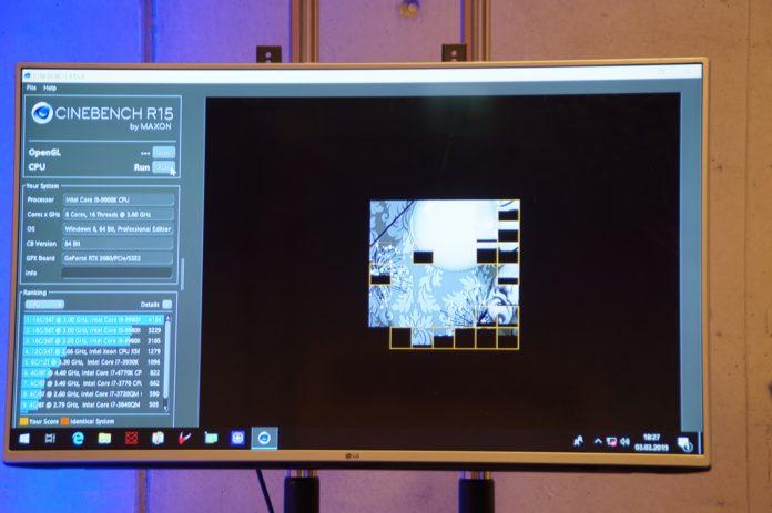 IEM Katowice 2019 - podkręcanie procesorów Intela