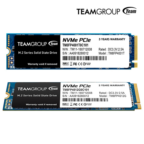 Team Group MP34 M.2 PCIe SSD