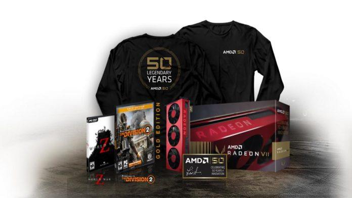 Radeon VII Gold Edition - zestaw