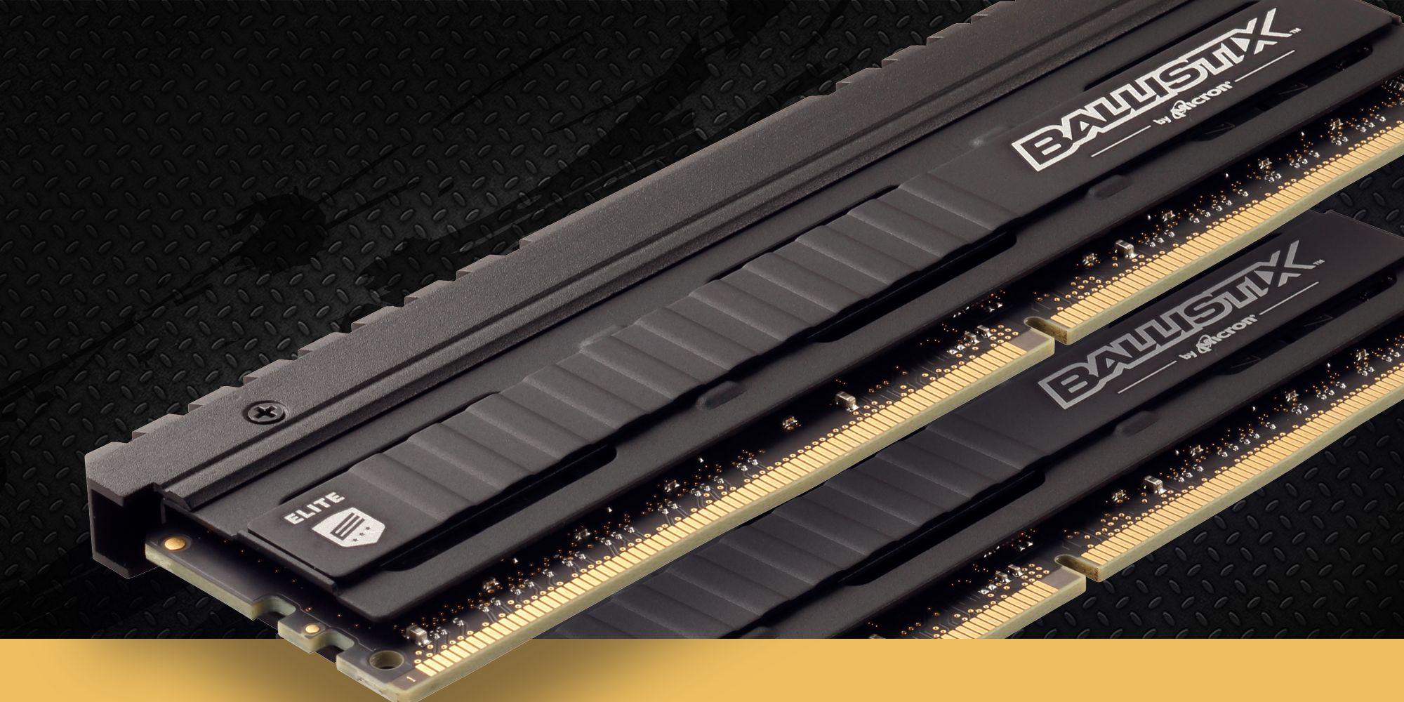 Ballistix Elite DDR4 podkręcone do prędkości 5758.5 MHz 1