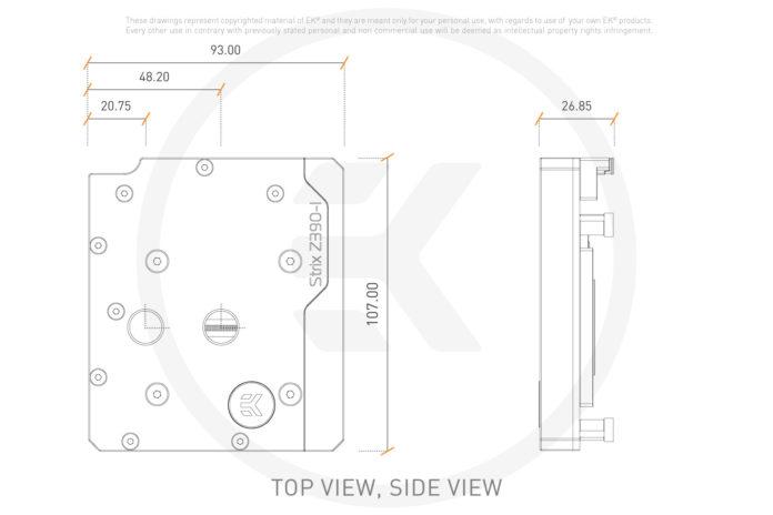 EK-Momentum ROG Strix Z390-I D-RGB - monoblok chłodzenia wodnego 4