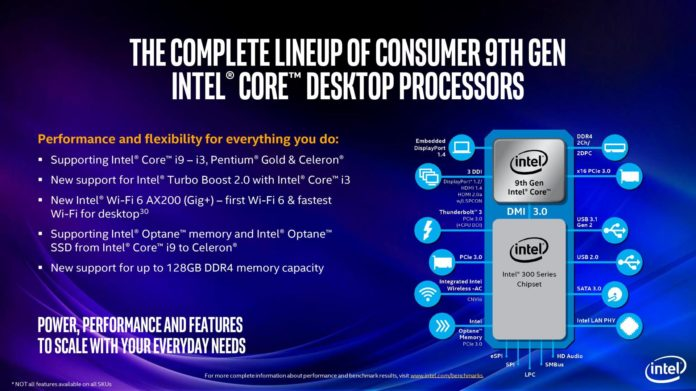 Intel Core 9 generacji