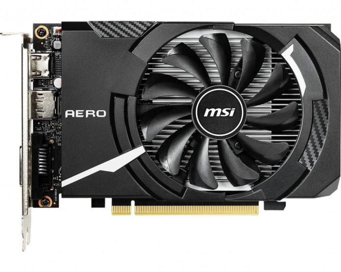 MSI GeForce GTX 1650 AERO ITX 6G
