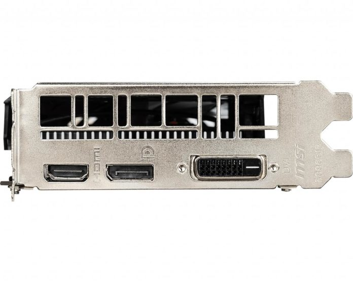 MSI GeForce GTX 1650 AERO ITX 6G OC
