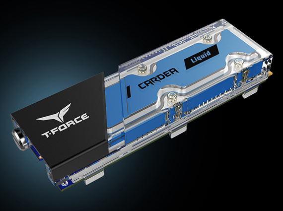 T-FORCE CARDEA Liquid M.2 PCIe SSD