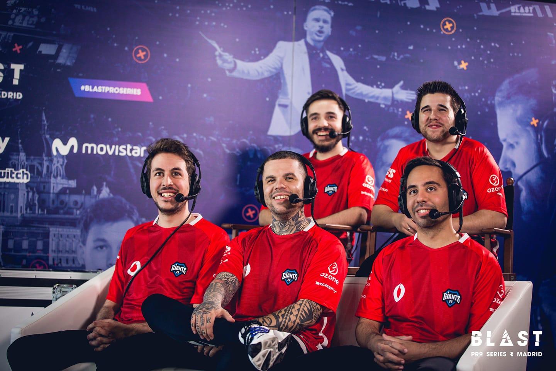 BLAST Pro Series Madrid 2019: Podsumowanie gry Vodafone Giants 1